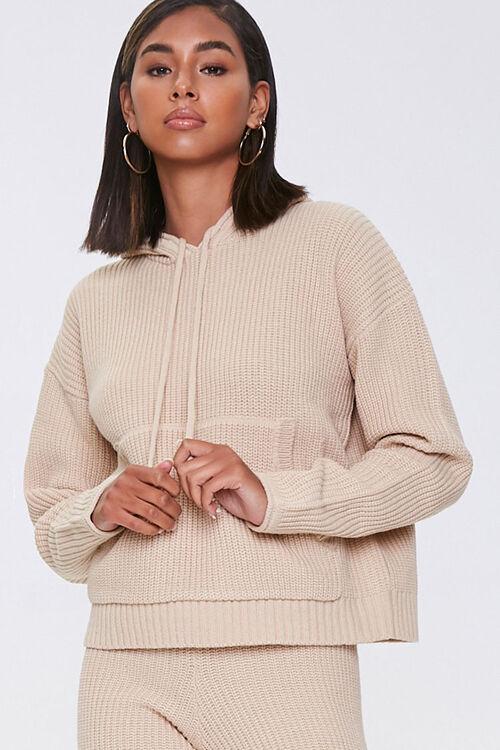 Sweater-Knit Hoodie & Pants Set, image 5
