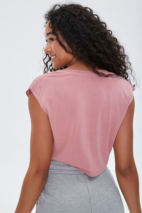 Active Knotted Crop Top, image 3