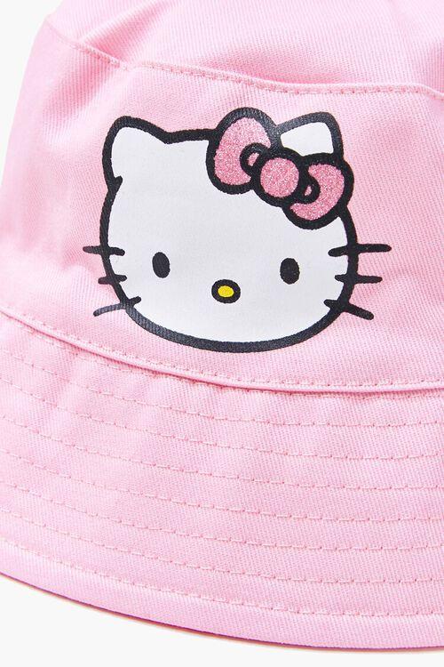 Girls Hello Kitty Bucket Hat (Kids), image 4