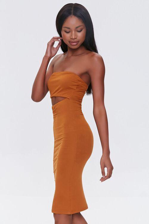 Cutout Bodycon Tube Dress, image 2