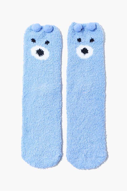 Pom Pom Bear Crew Socks Set, image 2