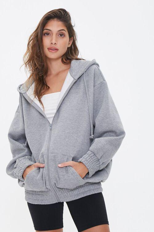 Fleece Zip-Up Hoodie, image 1