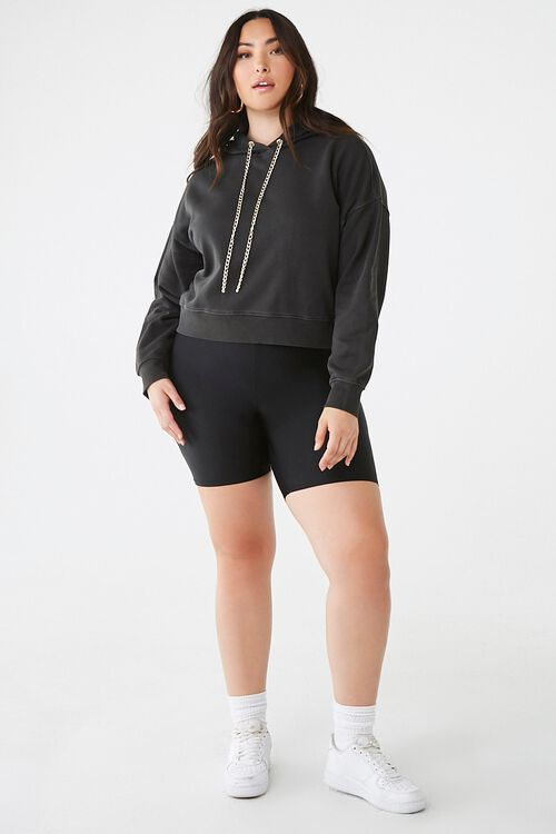 Plus Size Curb Chain Hoodie, image 4