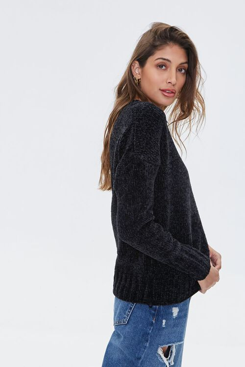 Chenille Drop-Sleeve Sweater, image 2