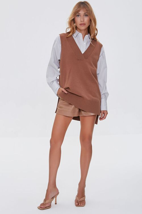 High-Low Sweater Vest, image 4