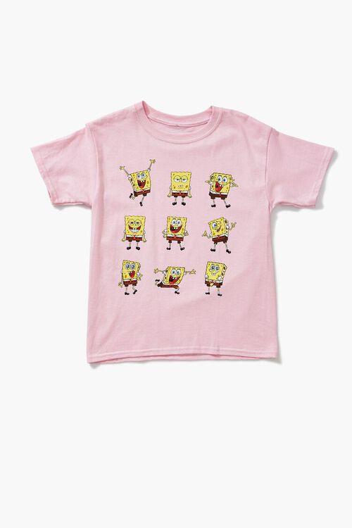 Girls SpongeBob SquarePants Graphic Tee (Kids), image 1