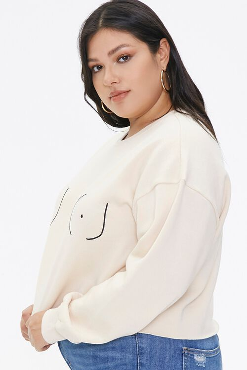 Plus Size Stand Up To Cancer Graphic Pullover, image 2