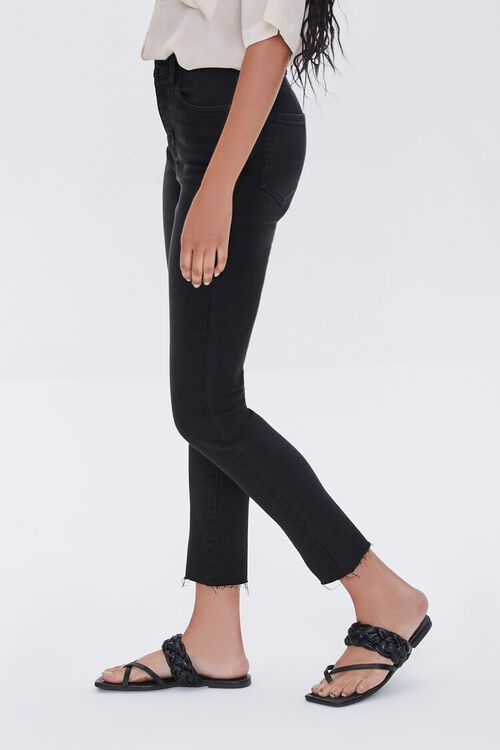 High-Rise Frayed Mom Jeans, image 3