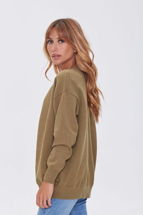 Sweater-Knit Crop Top & Cardigan Set, image 2