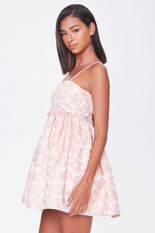 Jacquard Rose Print Dress, image 2