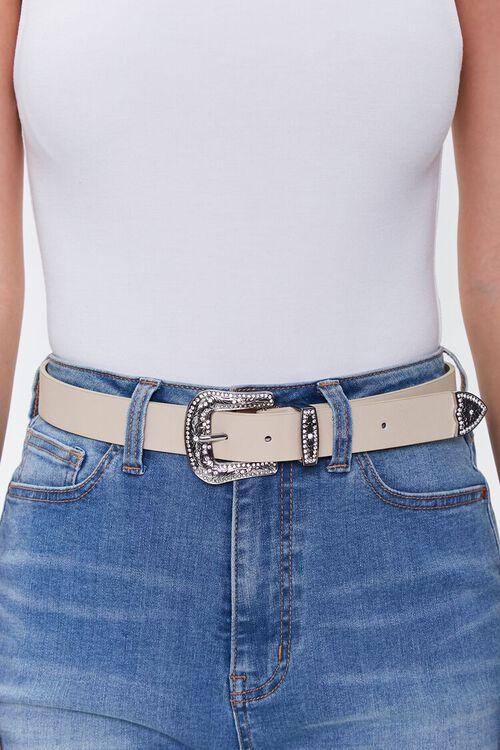 Rhinestone Buckle Hip Belt, image 1
