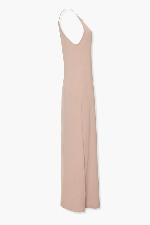 Ribbed Knit Maxi Cami Dress, image 2