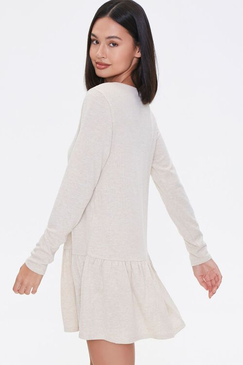 French Terry Drop Waist Dress, image 2