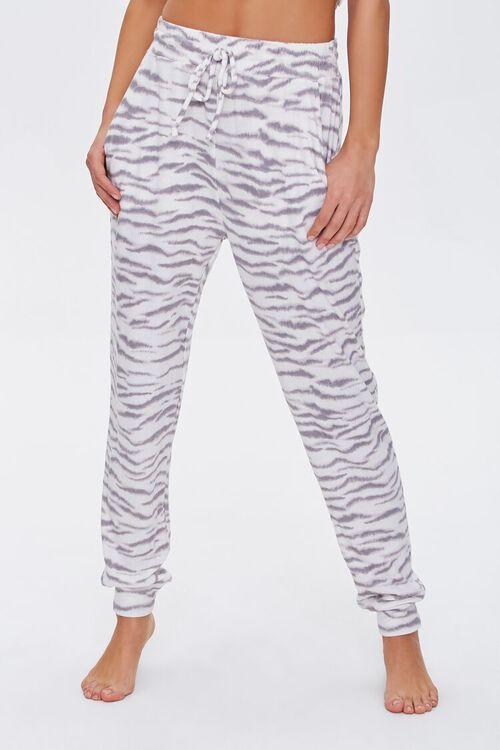 Tiger Print Lounge Pants, image 2