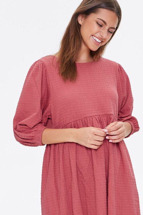 Textured Knit Mini Dress, image 5