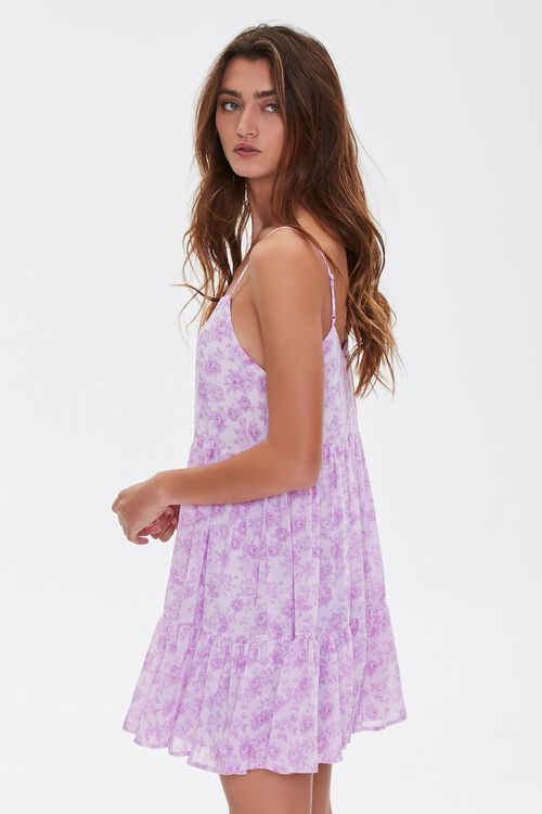 Floral Print Mini Cami Dress, image 2