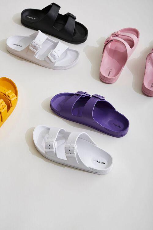 Buckled Flatform Sandals, image 1