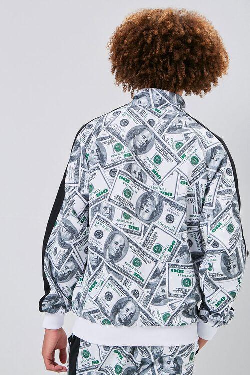 Hundred Dollar Print Bomber Jacket, image 3