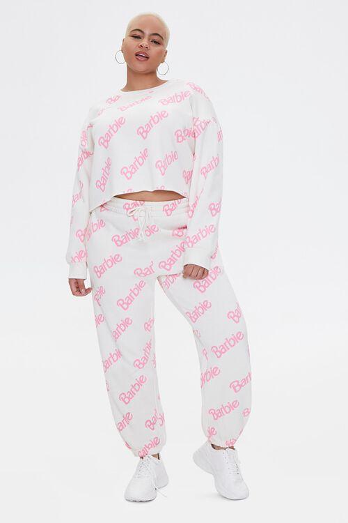 Plus Size Fleece Barbie™ Pullover, image 4