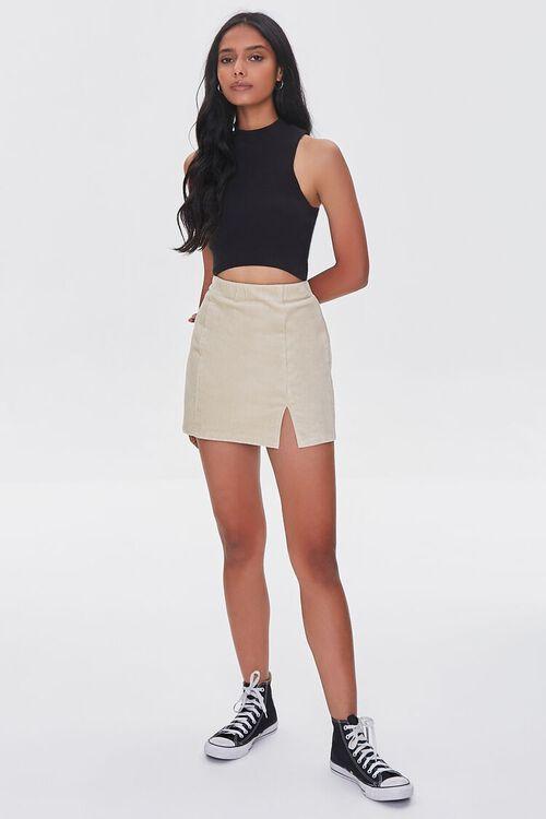 CREAM Corduroy Mini Skirt, image 5