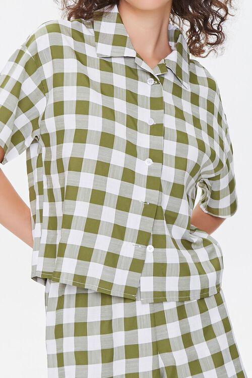 Gingham Shirt & Shorts Set, image 5