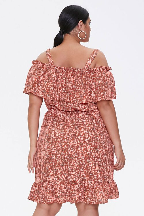 Plus Size Open-Shoulder Dress, image 2