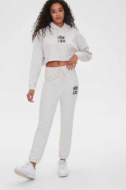 She Can Graphic Hoodie, image 4