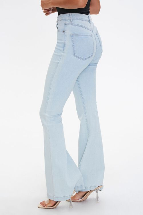 Clean Wash Flare Jeans, image 3