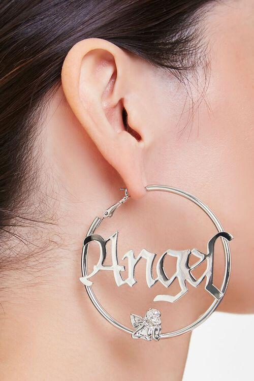 Angel Hoop Earrings, image 1