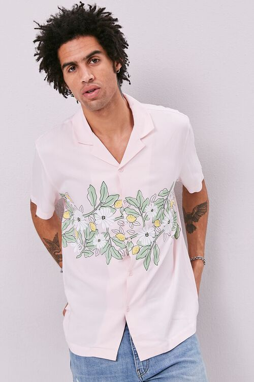 Classic Fit Floral Shirt, image 1