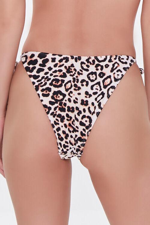 Leopard Print String Bikini Bottoms, image 4