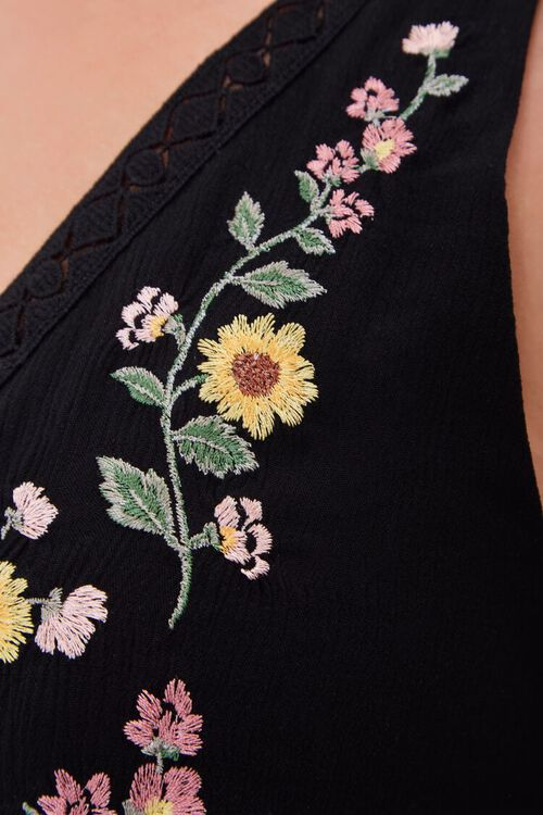 Plus Size Embroidered Floral Dress, image 6