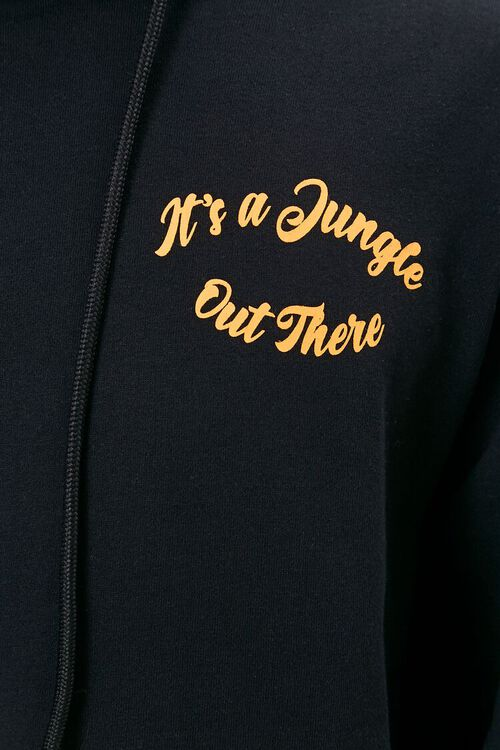 Its a Jungle Out There Graphic Hoodie, image 5