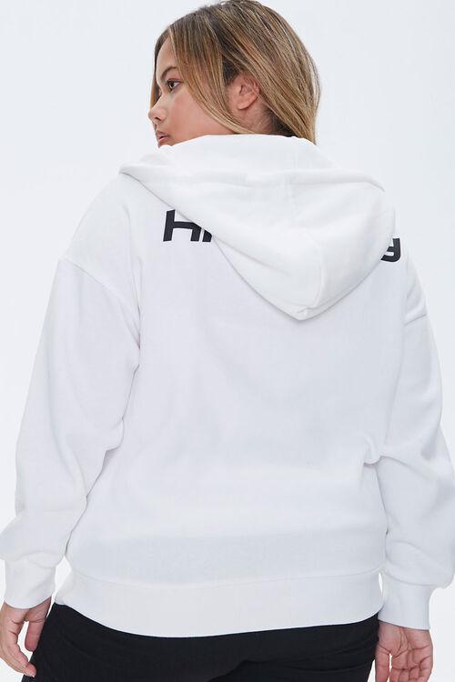 Plus Size High Key Zip-Up Hoodie, image 3