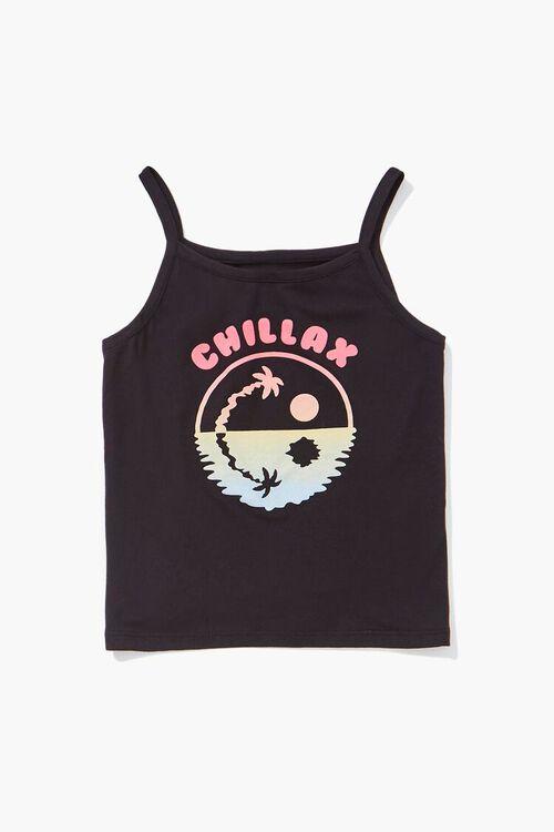 Girls Chillax Graphic Cami (Kids), image 1