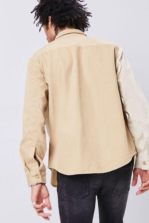Classic Fit Colorblock Pocket Shirt, image 3
