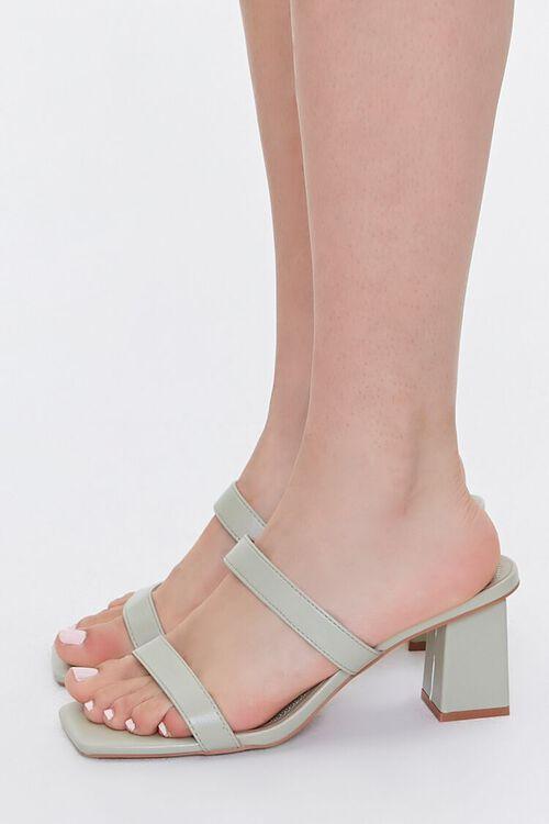 Square-Toe Block Heels, image 2