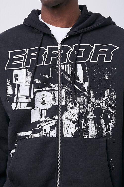 Error Graphic Zip-Up Hoodie, image 5