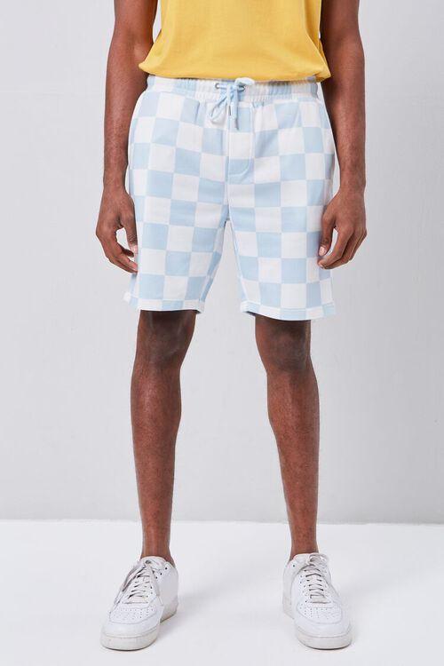Checkered Drawstring Shorts, image 2