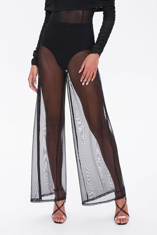 Mesh Wide-Leg Pants, image 2