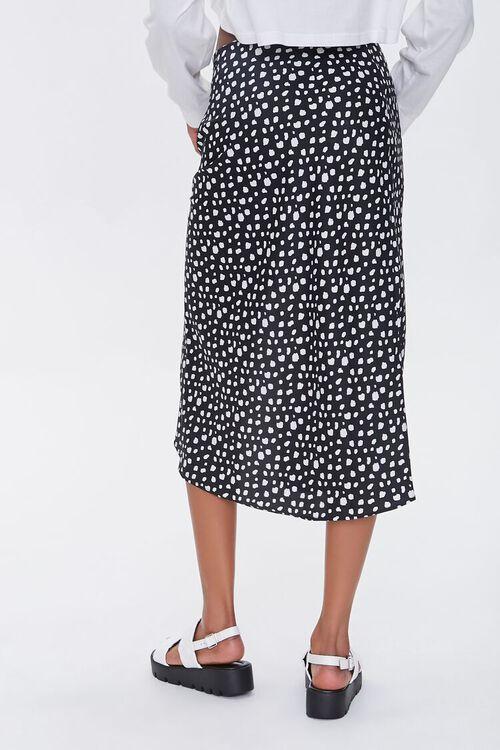 Satin Spotted Print Skirt, image 3