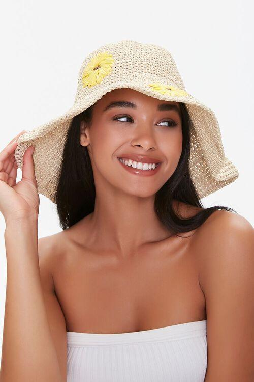 Sunflower Print Bucket Hat, image 3