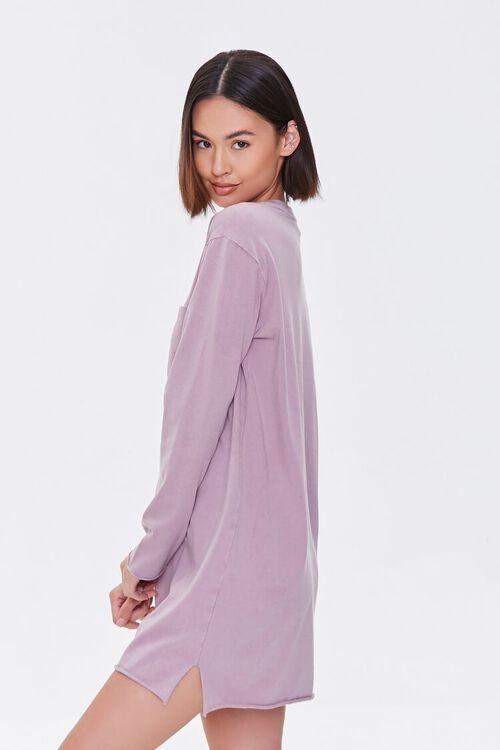Long-Sleeve T-Shirt Dress, image 2
