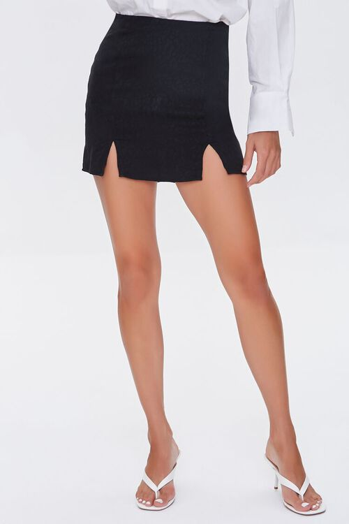 M-Slit Mini Skirt, image 2
