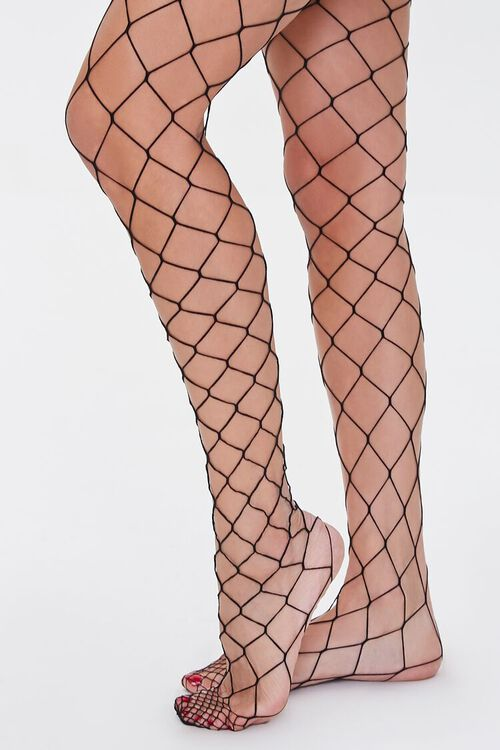 Oversized Fishnet Tights, image 1