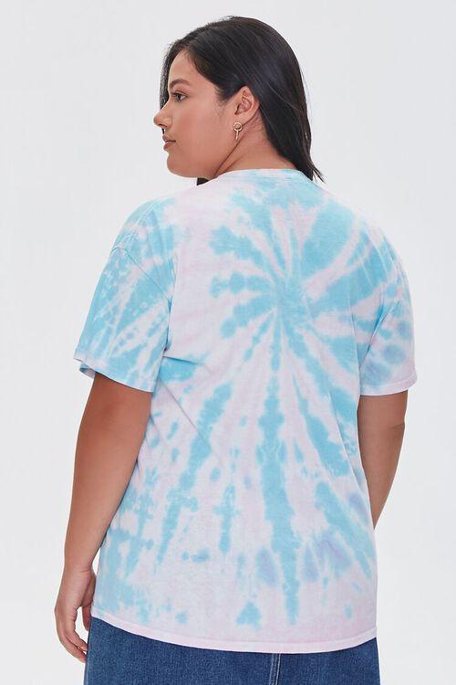 Plus Size Pink Floyd Tie-Dye Tee, image 3