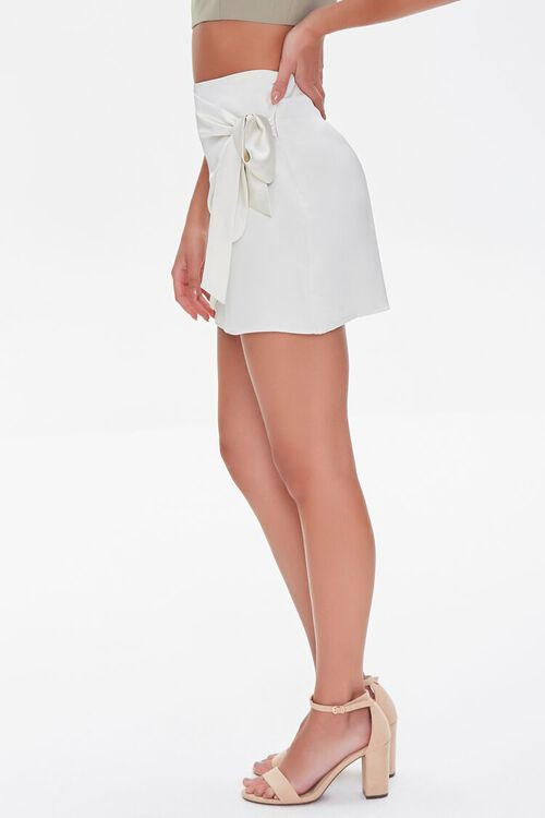 Knotted Wrap Mini Skirt, image 3