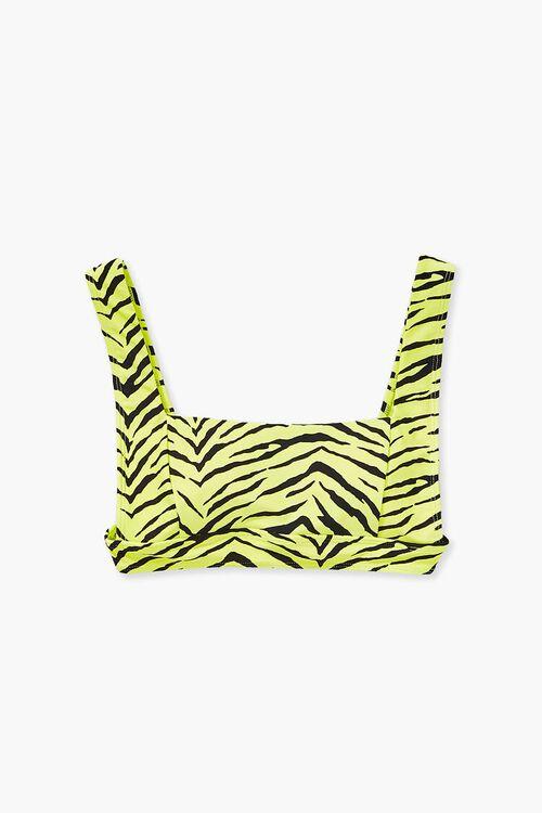 Tiger Print Bikini Top, image 4