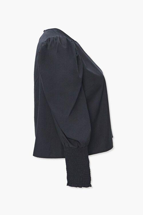 Plus Size Gigot-Sleeve Top, image 2