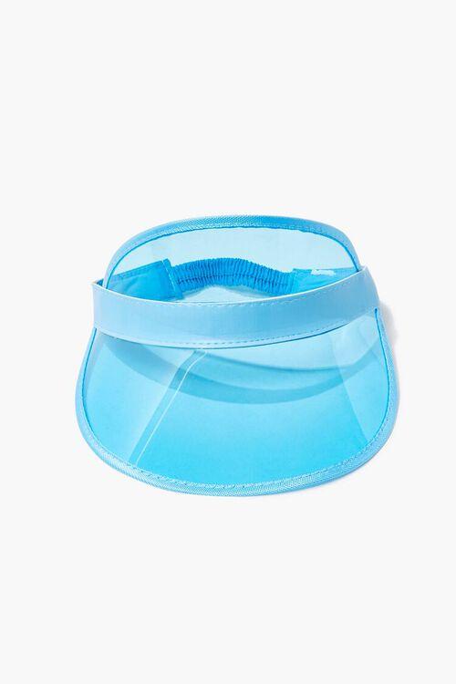 Transparent Curved-Brim Visor, image 2